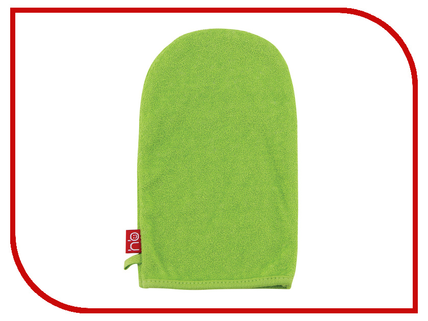 Мочалка рукавичка Happy Baby Wash & Bath Green 35005