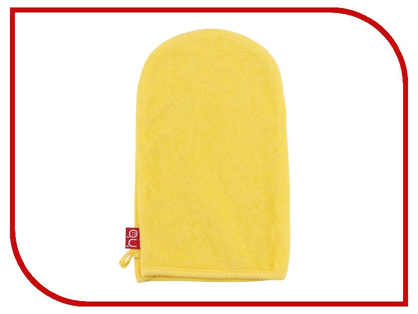 Мочалка рукавичка Happy Baby Wash & Bath Yellow 35005 детское автокресло happy baby skyler blue