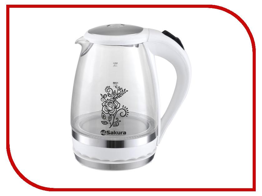 Чайник Sakura SA-2712W утюг sakura sa 3048nr
