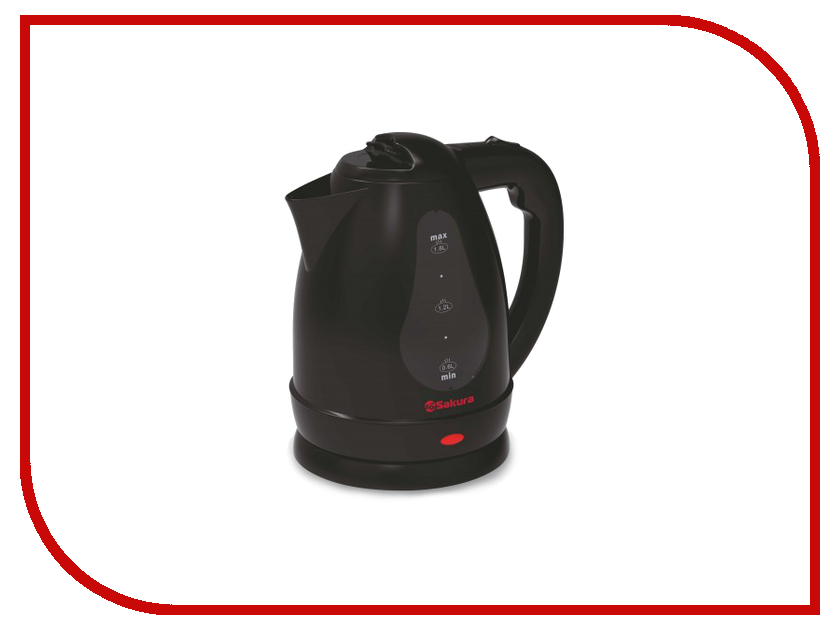 Чайник Sakura SA-2341BK чайник sakura sa 2340p