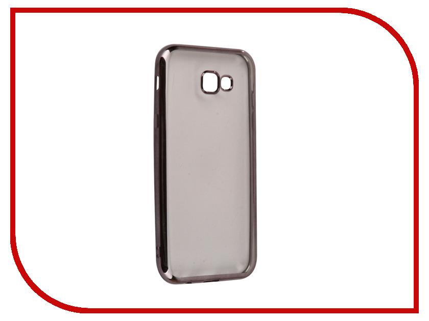 Аксессуар Чехол Samsung Galaxy A7 2017 iBox Blaze Silicone Black frame аксессуар чехол xiaomi redmi 3 3s 3 pro ibox blaze silicone gold frame