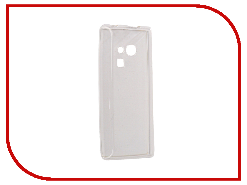 Аксессуар Чехол Nokia 216 iBox Crystal Silicone Transparent аксессуар чехол microsoft lumia 650 ibox crystal transparent