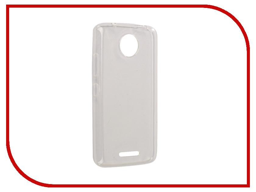 Аксессуар Чехол Motorola Moto C iBox Crystal Silicone Transparent аксессуар чехол microsoft lumia 650 ibox crystal transparent