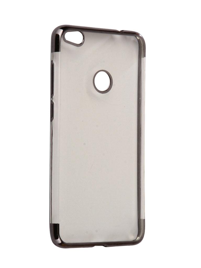 Аксессуар Чехол iBox для Honor 8 Lite Blaze Silicone Black frame аксессуар чехол ibox для honor 8 lite crystal silicone transparent