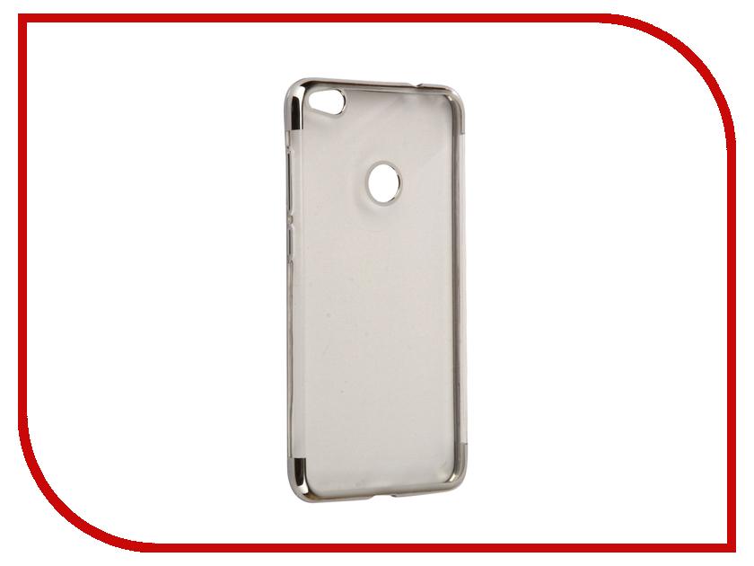 купить Аксессуар Чехол Huawei Honor 8 Lite iBox Blaze Silicone Silver frame недорого