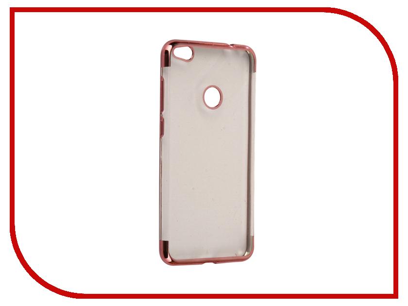 Аксессуар Чехол Huawei Honor 8 Lite iBox Blaze Silicone Pink frame ibox для huawei honor 6x