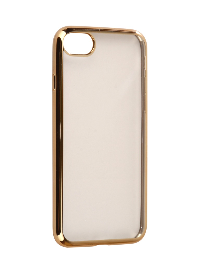 Аксессуар Чехол iBox для APPLE iPhone 8 / 7 Blaze Silicone Gold Frame