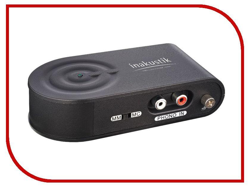 Фонокорректор Inakustik Premium Phono Pre-Amp + USB Grabber винтажный фонокорректор купить
