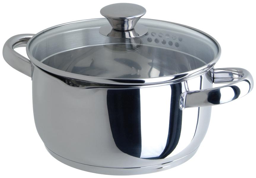 цена на Кастрюля Regent Inox Cucina 3.3L 20x10.5cm 93-CU-04