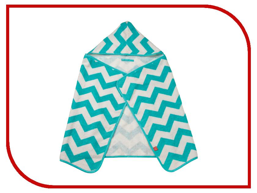 Полотенце с капюшоном Happy Baby Fluffy Blue 34017