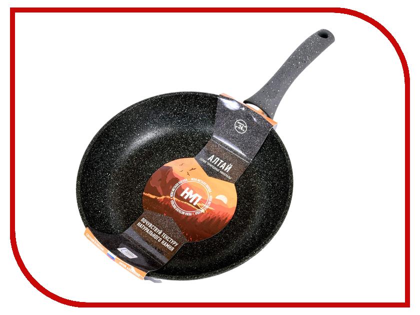 Сковорода Нева-металл Алтай 24cm 27124 сковорода d 24 см нева металл алтай 27124