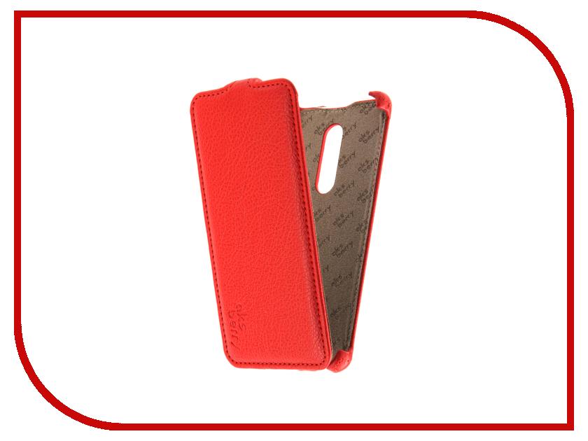 Аксессуар Чехол Nokia 5 Aksberry Red