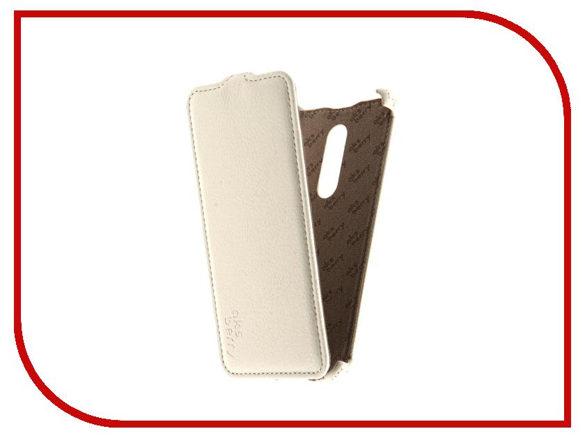Аксессуар Чехол Nokia 5 Aksberry White аксессуар чехол nokia xl nexx zero поликарбонат white mb zr 602 wt