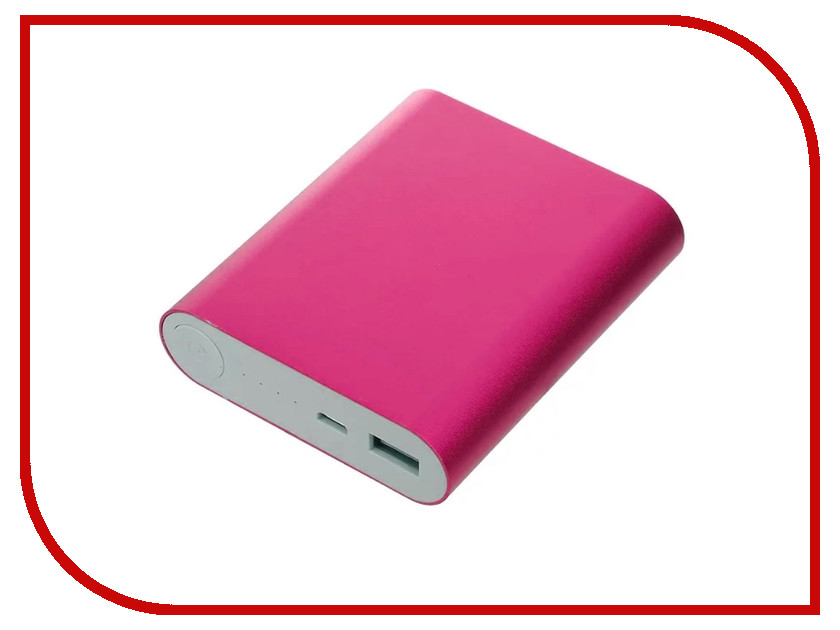 Аккумулятор Aksberry S-8000BU 8000mAh Pink внешний аккумулятор mango mp 8000 8000mah dc5v 2a pure white