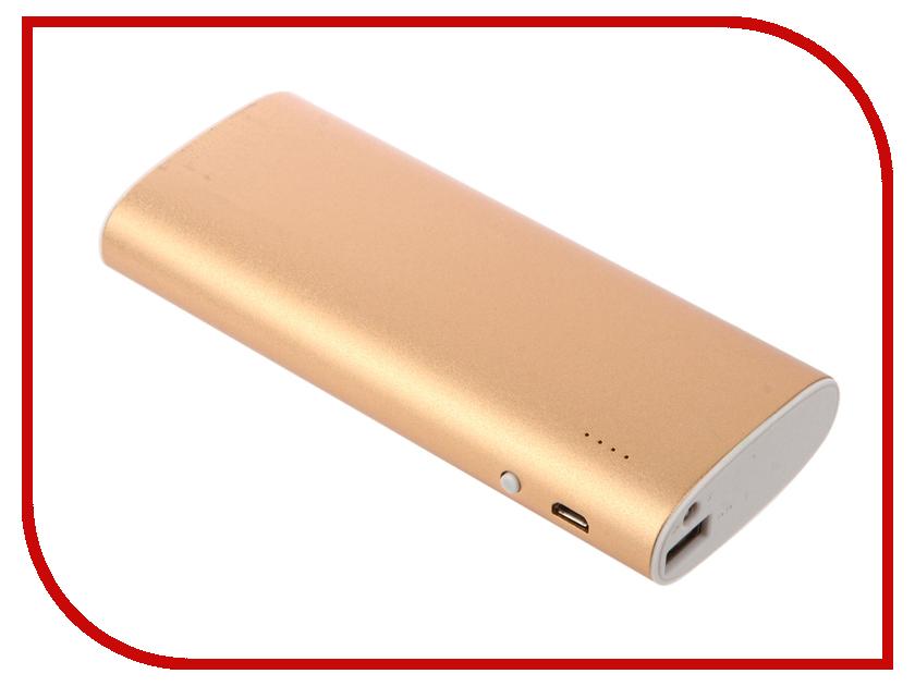 Аккумулятор Aksberry S-10000A 13000mAh Gold аккумулятор aksberry x10 li pol 10000mah 2xusb white