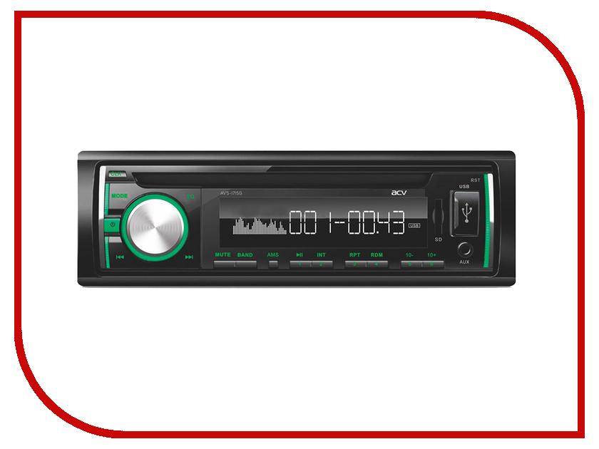 Автомагнитола ACV AVS-1715G Green