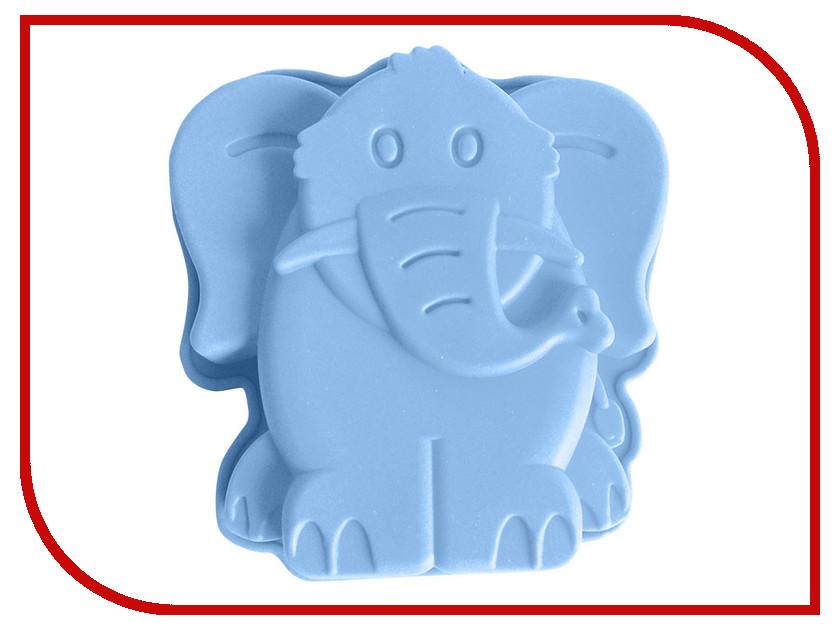Форма для выпечки Webber BE-4383S Слон Light Blue цена