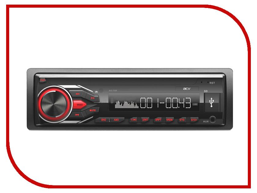 Автомагнитола ACV AVS-1712R Red