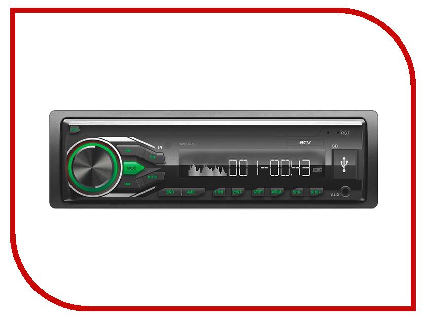 Автомагнитола ACV AVS-1712G Green