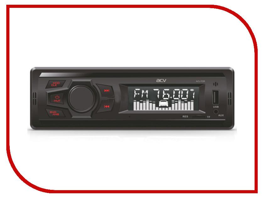 Автомагнитола ACV AVS-1701R Red цена