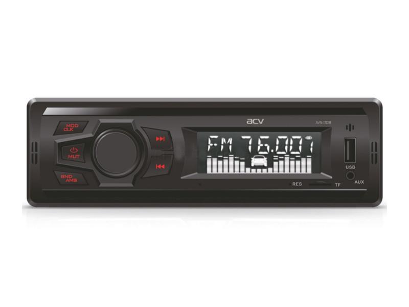 Автомагнитола ACV AVS-1701R Red