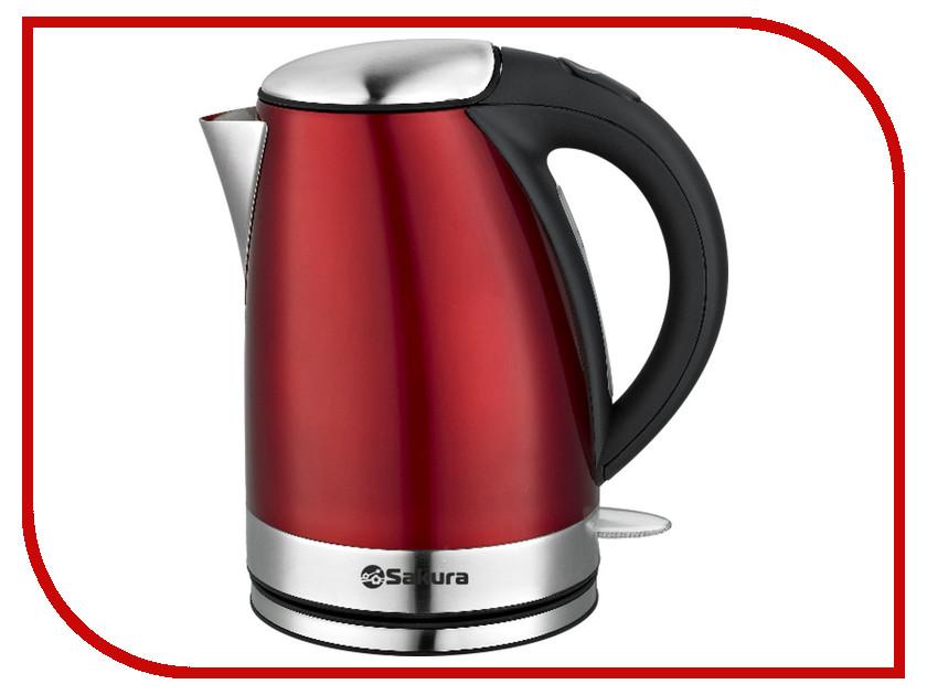 Чайник Sakura SA-2118R чайник sakura sa 2134bl