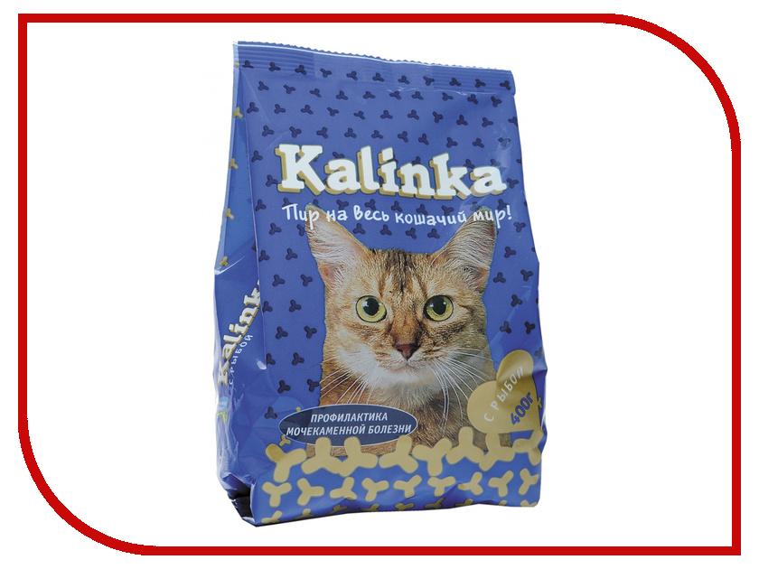 Корм Kalinka Рыба 400g для кошек ZR0403a олег ольхов рыба морепродукты на вашем столе