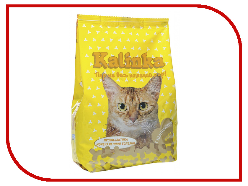 Корм Kalinka Цыпленок 400g для кошек ZR0404a