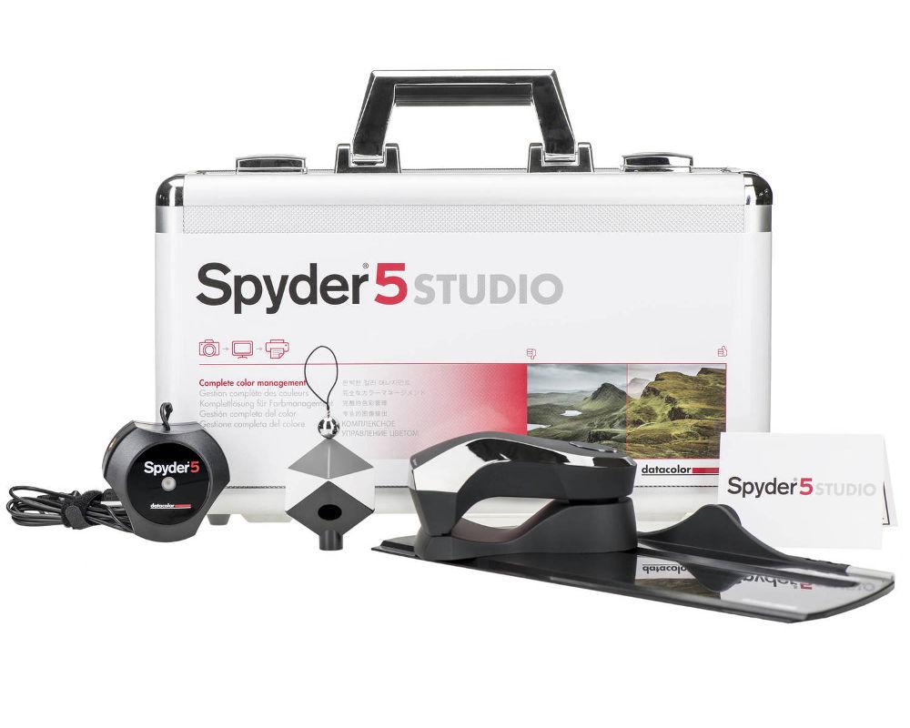 Калибратор Datacolor Spyder5STUDIO S5SSR100 калибратор x rite eye one display pro eodis3
