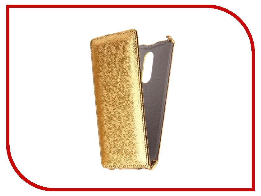 Аксессуар Чехол Xiaomi Redmi Note 4X Svekla Gold FL-SVXIREDN4X-GOLD