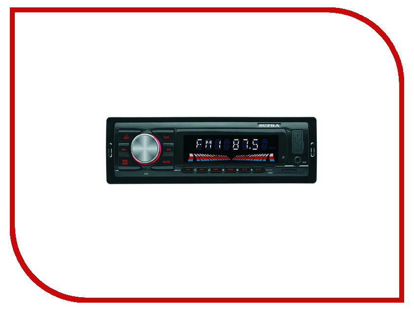 Автомагнитола SUPRA SFD-45U автомагнитола supra sfd 1015u usb mp3 черный