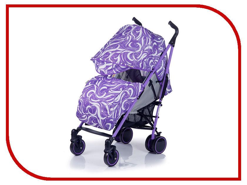 Коляска BabyHit Handy White Lilac 4607159163592