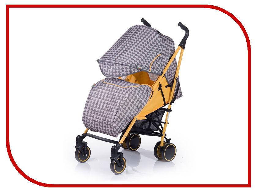 Коляска BabyHit Handy Grey Yellow 4607159163592