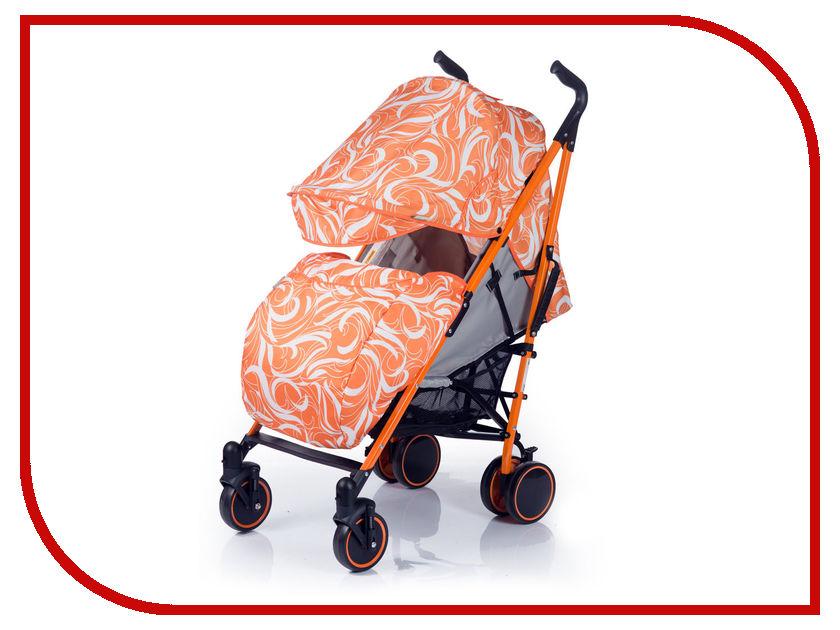 Коляска BabyHit Handy White Orange 4607159163592
