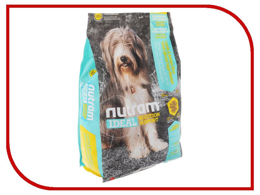 Корм Nutram Sensitive Skin Coat Stomach Dog Ягненок 500g для собак блестящая шерсть CDK814