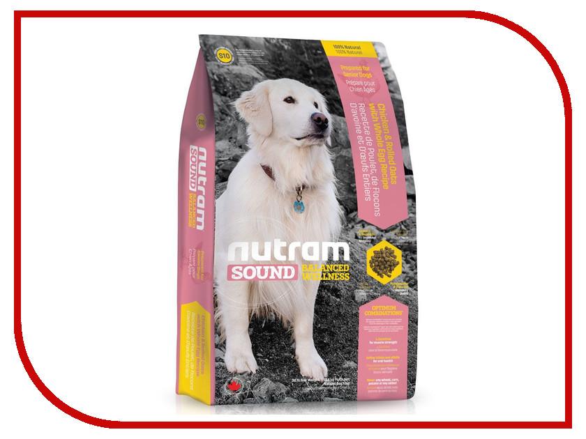 Корм Nutram Senior Dog Курица 2.72kg для пожилых собак CDK98223