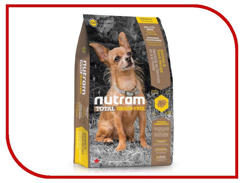 Корм Nutram Grain Free Small Toy Breeds Форель и лосось 6.8kg для собак CDK2749