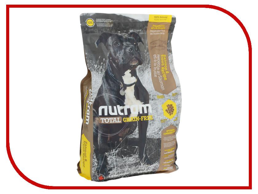 Корм Nutram Total Grain Free Smail Breed Dog Food Форель и лосось 2.72kg для собак CDK2732
