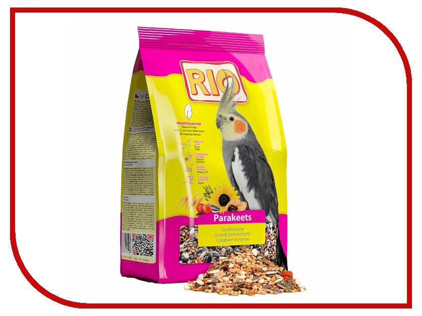 Корм Rio 500g для средних попугаев в период линьки KK21040