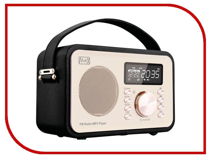 Радиоприемник MAX MR-350 Gold Edition max мультимидийная аудио система mr 280 черная