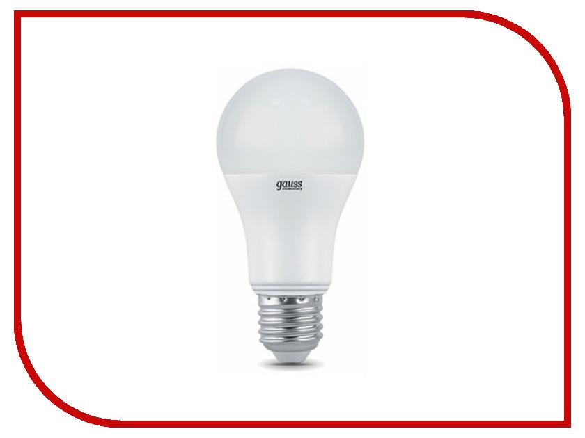 Лампочка Gauss Elementary E27 A60 20W 4100K 23229 gauss elementary a60 e27 20w 230v холодный свет
