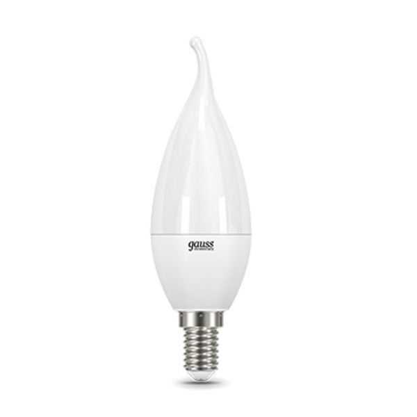 Лампочка Gauss Elementary Candle Tailed E14 8W 4100K 34128 лампочка gauss led filament candle tailed dimmable e14 5w 4100k 104801205 d