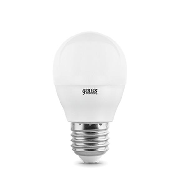 цена Лампочка Gauss Elementary Globe E27 8W 3000K 53218 онлайн в 2017 году