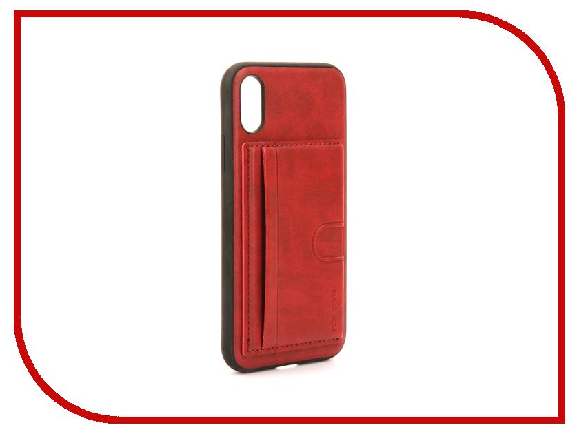Аксессуар Чехол Rock Space Cana Kickstand для iPhone 8 Red 08179 аксессуар чехол rock space ring holder ��ля iphone 7 light blue 47536