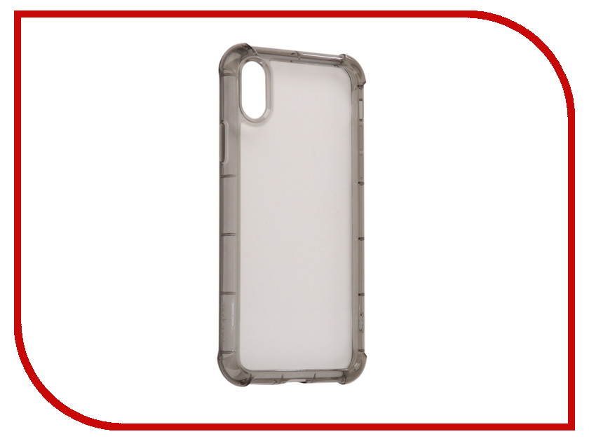 Аксессуар Чехол Rock Space Fence Pro для iPhone X Transparent-Black 08469
