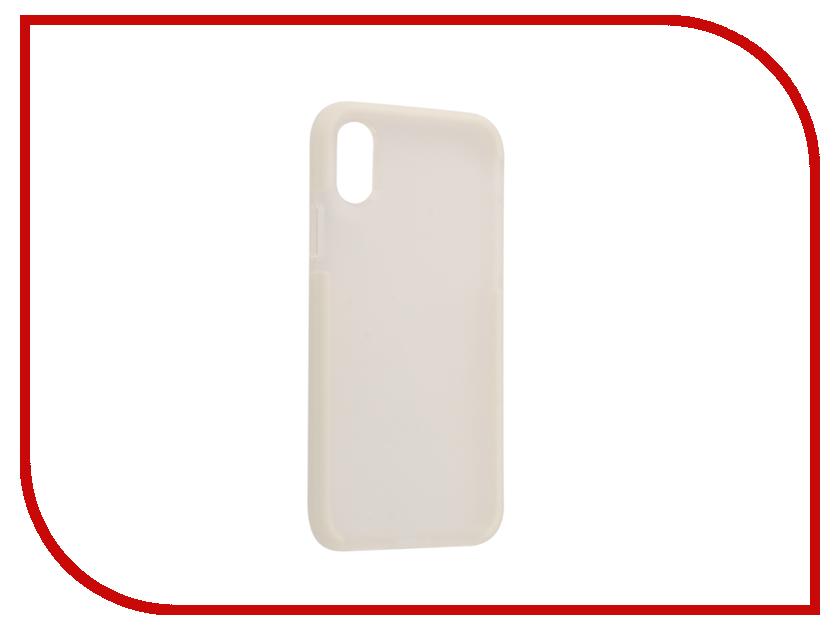 Аксессуар Чехол Rock Space Guard для iPhone X White 08810