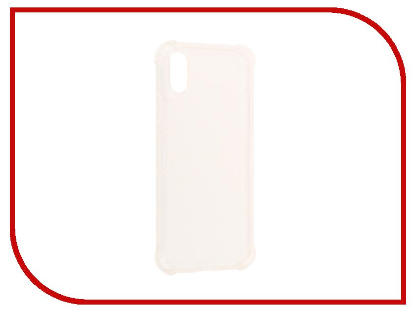 Аксессуар Чехол Rock Fence для iPhone X Transparent 07769