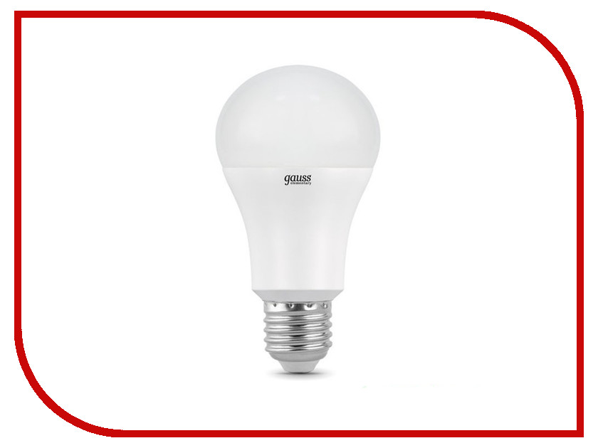 Лампочка Gauss LED 10W E27 2700K LD102502110-S