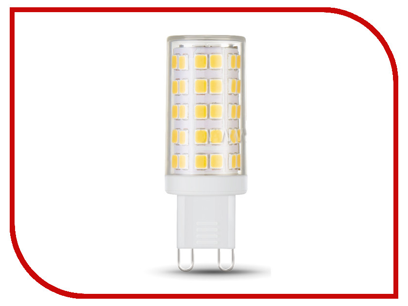 Лампочка Gauss LED 5W G9 AC185-265V 4100K 107309205 лампочка gauss mr16 gu5 3 5w 12v 4100k 201505205