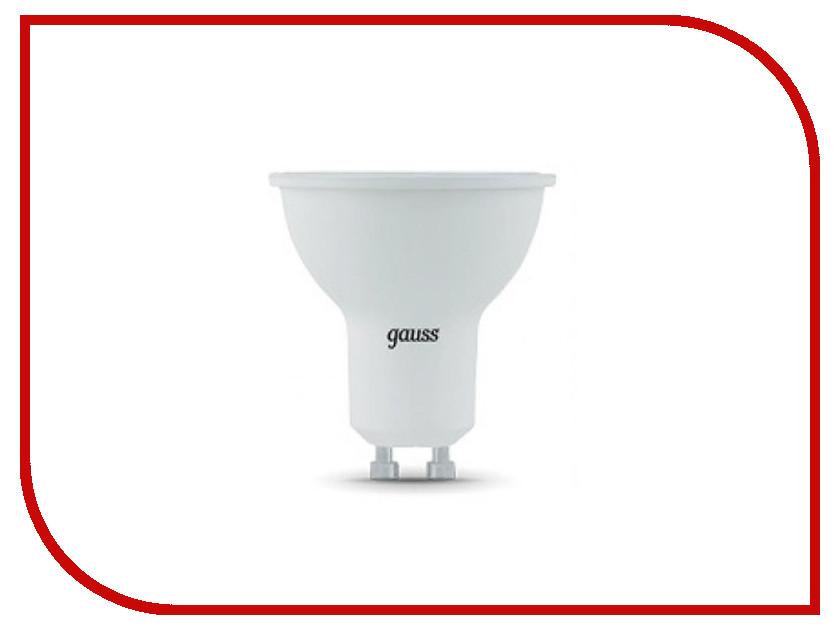 Лампочка Gauss LED 7W MR16 GU10 2700K 101506107 лампочка gauss mr16 gu5 3 5w 2700k 101505105